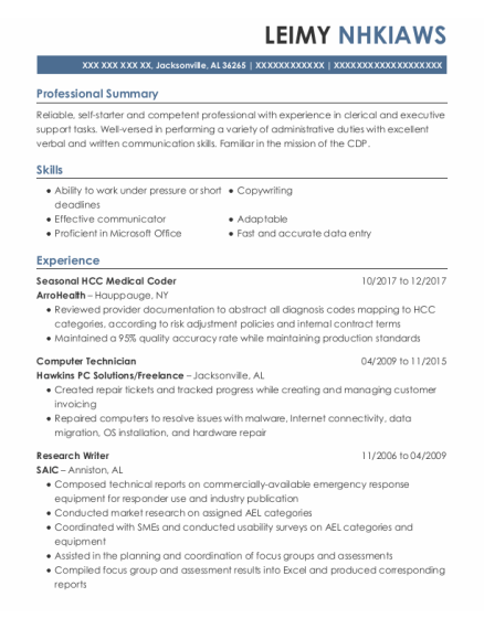 Take note of important requirements and skills—the resume keywords. 20 Best Computer Technician Resumes Resumehelp
