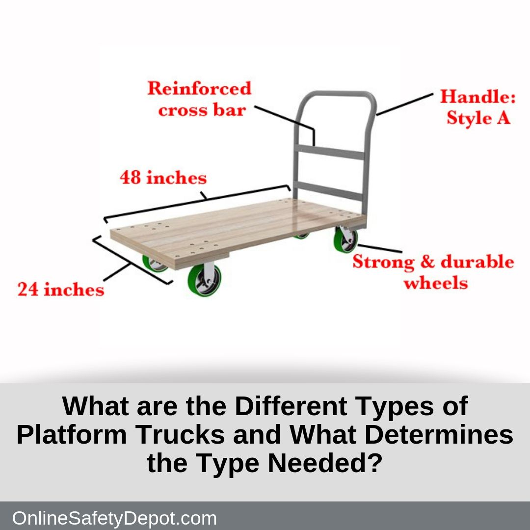 What Are The Different Types Of Platform Trucks And What
