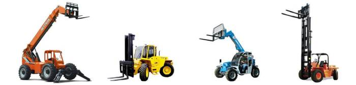 rough terrain class vii lift trucks