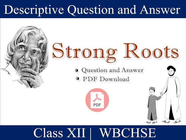 Strong Roots - Important Question and Answer | Question and Answer of Strong Roots | Free PDF Download