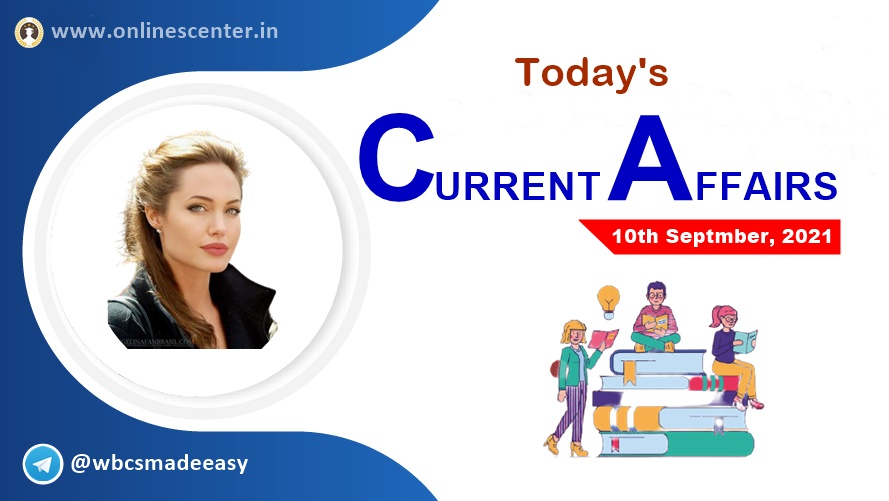 Current Affairs today- 10th September | download free pdf