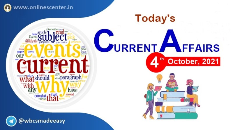 Daily-current-affairs-4-October-2021