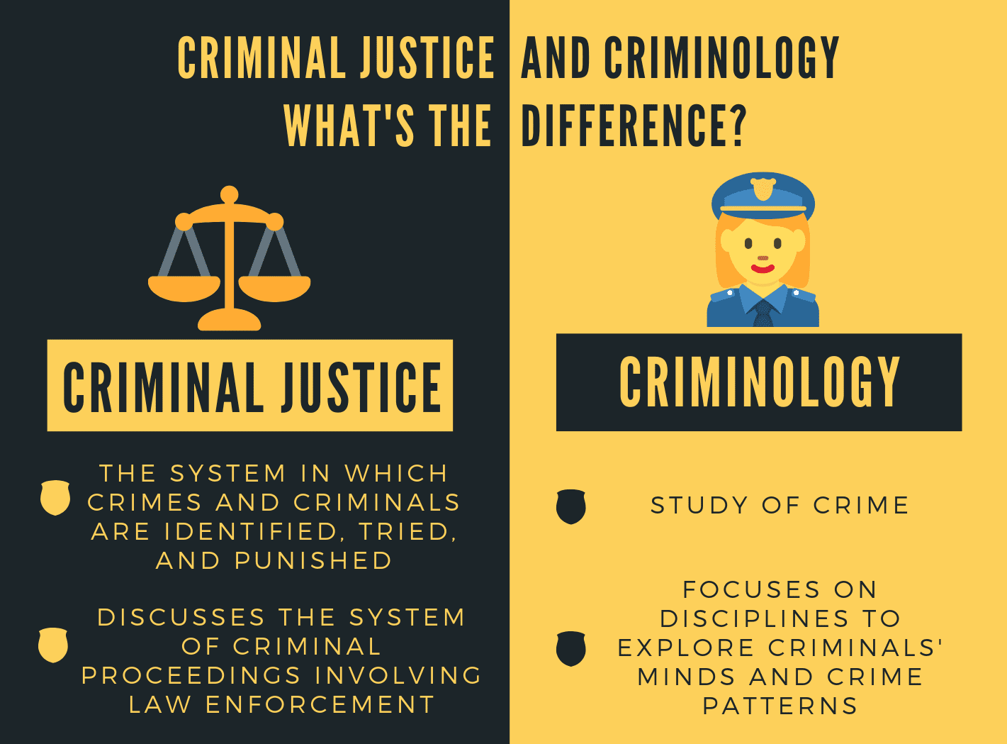Criminal Justice Career Salary And Degree Guide