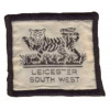Leicestershire South West District Badge (Identity) badge
