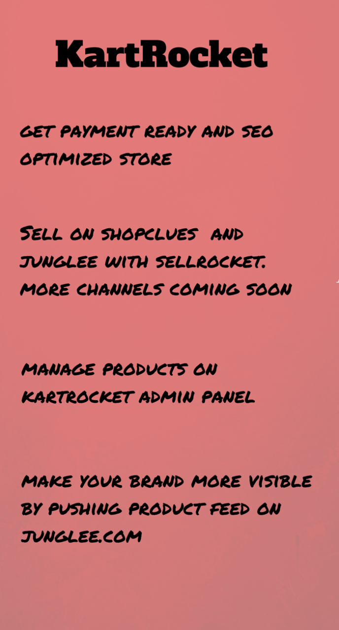 Sell online in India