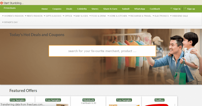 Coupon sites in India