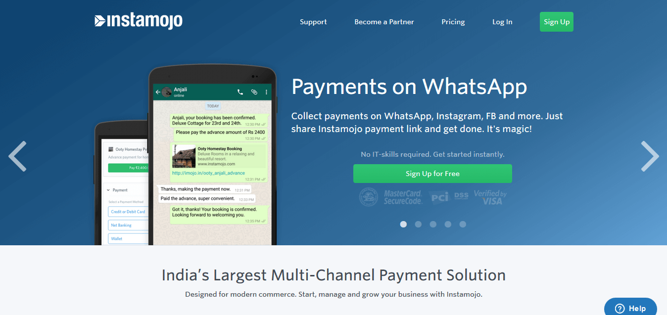 Sell on whatsapp in India