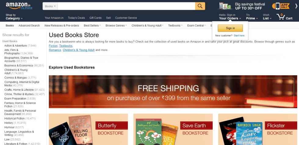 List Of Websites To Buy/Sell/Rent Used Books Online In India