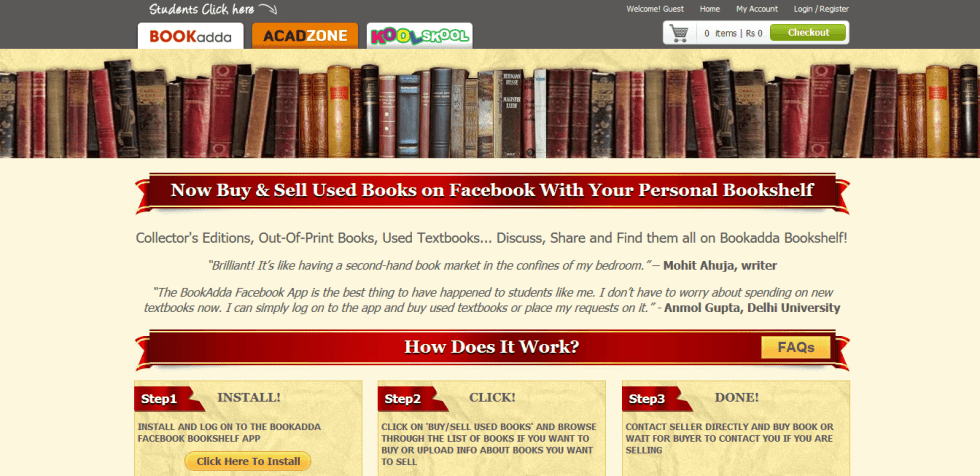 buy/sell used books online in india