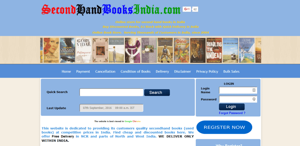 exchange books online in india