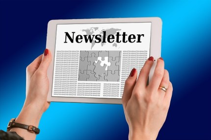 Newsletter for traffic to online store