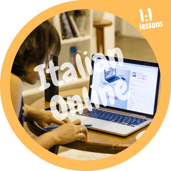 Italian language course online 1to1