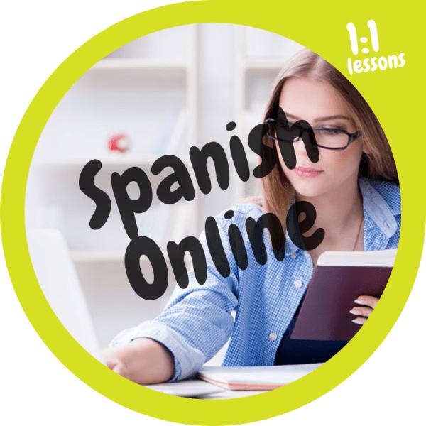 Spanish language course online 1to1