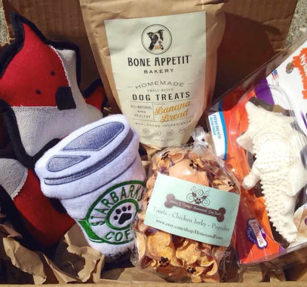 Dog Subscription Box delivered monthly from Smoosh Box