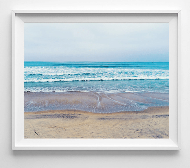 beach photography print