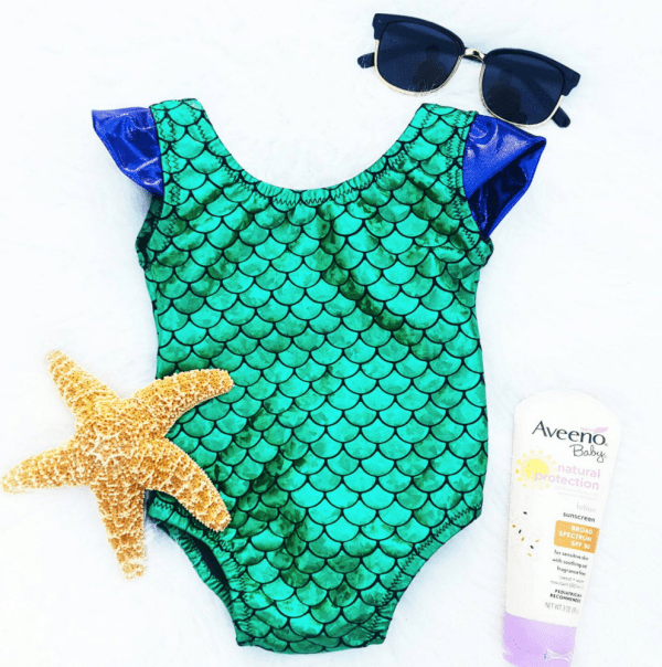 Toddler Mermaid Swimsuit