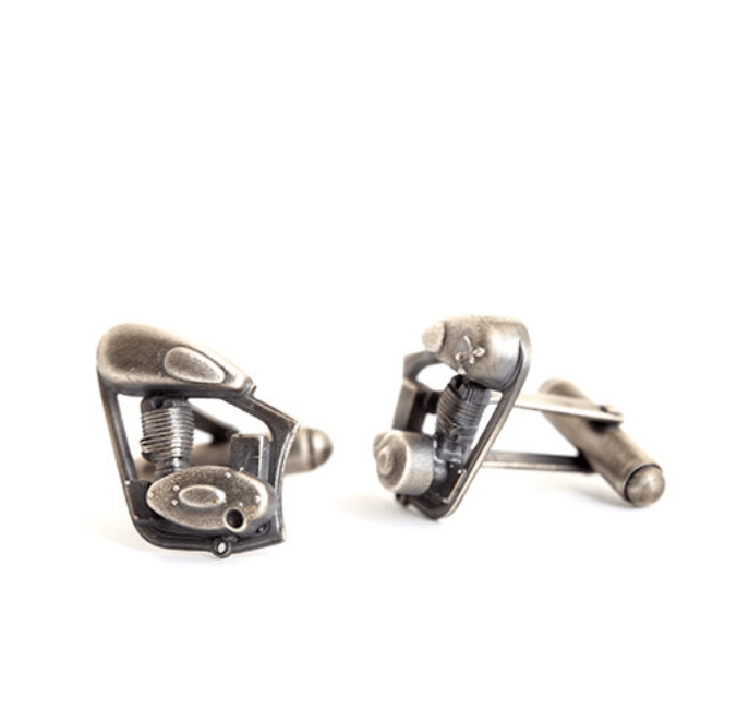 retirement gift ideas motorcycle cufflinks men