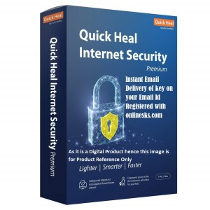 Quick Heal Internet Security Premium 1 PC 1 Year Latest Version ( Instant Email Delivery of Key ) No CD Only Key