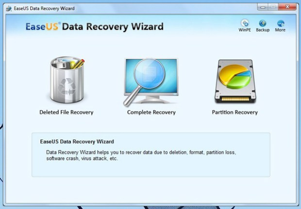 EaseUS Data Recovery -- Internal pic