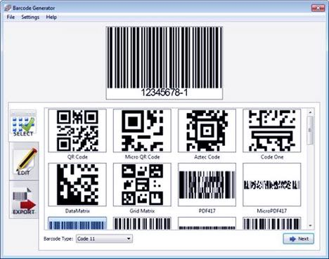 Free Download barcode generator v2 1 with life time Crack