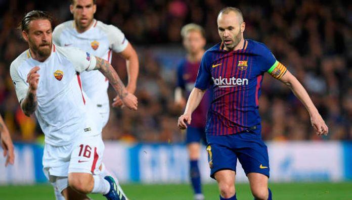 Daniele De Rossi names most complete midfielder in history