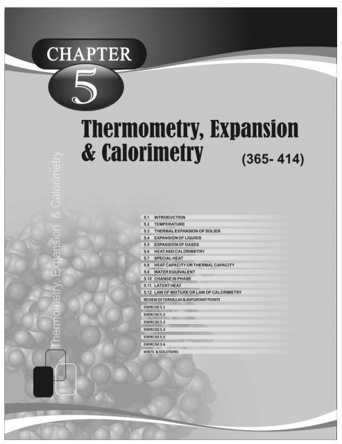 Heat and Thermodynamics - Physics Disha Publication Study Material by Er DC Gupta for JEE Mains and Advanced Examination in PDF