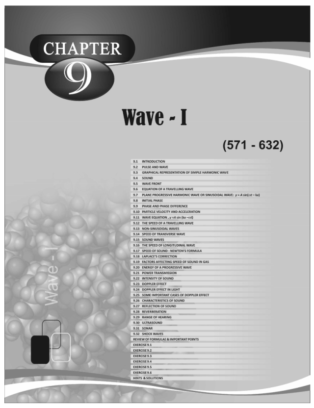 Waves - Physics Disha Publication Study Material by Er DC Gupta for JEE Mains and Advanced Examination in PDF