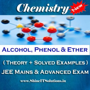 Alcohol Phenol and Ether - Chemistry Best Kota Study Material for JEE Mains and Advanced Examination (in PDF)