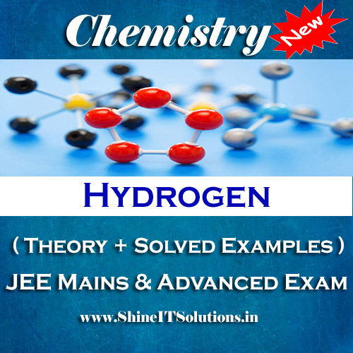 Hydrogen - Chemistry Best Kota Study Material for JEE Mains and Advanced Examination (in PDF)