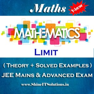 Limit - Mathematics Best Kota Study Material for JEE Mains and Advanced Examination (in PDF)