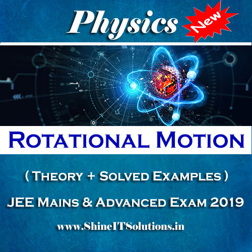 Rotational Motion - Physics Best Kota Study Material for JEE Mains and Advanced Exam (in PDF)