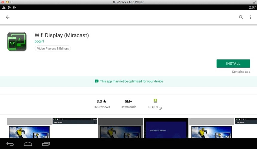 Wifi Display Miracast on the PC