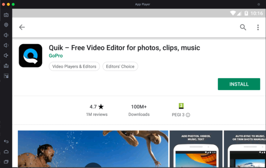 Quik App for PC - Free Download for Windows 7, 8, 10 and Mac