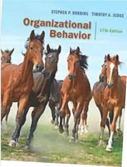[Solution Manual] [Test bank] Organizational Behavior, 17th Edition Stephen P. Robbins,Timothy A. Judge 2017 Test bank + Solution Manual
