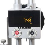 AccusizeTools – 0-12″/0-300mm Multi Function Double Beam Electronic Height Gage, #8528-0012