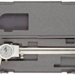 Brown-Sharpe-75-Series-Dial-Caliper-Stainless-Steel-Inch-Standard-Jaw-For-Depth-Inside-Outside-Step-Measurements-0-0