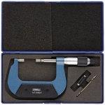 Fowler-52-246-002-1-Inch-Blade-Micrometer-1-2-Measuring-Range-00001-Graduation-00001-Accuracy-0-0