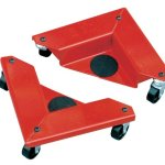 Hu-Lift-AR150-Desk-and-Cabinet-Corner-Mover-Dolly-1320-Lb-Capacity4-Pieces-105-Length-x-105-Width-x-335-Height-Case-of-4-0