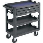 Northern-Industrial-Tools-3-Shelf-3-Drawer-Work-Cart-0