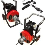 12-Snake-100-Ft-Electric-Drain-Auger-Cleaner-Cleaning-Sewer-Plumbing-Cutter-0