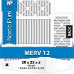 20x25x5-Honeywell-Replacement-MERV-12-Furnace-Air-Filter-Qty-4-0