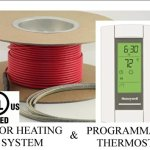50-Sqft-Cable-Set-Electric-Radiant-Floor-Heat-Heating-System-with-Aube-Digital-Floor-Sensing-Thermostat-0