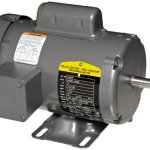 Baldor-L3504-General-Purpose-AC-Motor-Single-Phase-56-Frame-TEFC-Enclosure-12Hp-Output-1725rpm-60Hz-115230V-Voltage-0