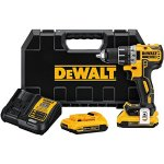 DEWALT-DCD791D2-20V-MAX-XR-Li-Ion-05-20Ah-Brushless-Compact-DrillDriver-Kit-0