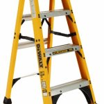 DeWalt-DXL3010-04-4-Feet-Fiberglass-Stepladder-Type-IA-with-300-Pound-Duty-Rating-4-Feet-0