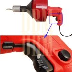 Electric-Drill-Style-Auger-Snake-Pipe-Drain-Clearing-Pluming-Cleaner-Pistol-Grip-0-1