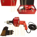 Electric-Drill-Style-Auger-Snake-Pipe-Drain-Clearing-Pluming-Cleaner-Pistol-Grip-0