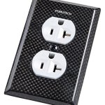 Furutech-104-D-Carbon-Fiber-Hi-Performance-Duplex-Outlet-Cover-Plate-0