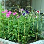 Glamos-Folding-Metal-Wire-Garden-Fence-18-Inch-by-10-Foot-0-0