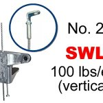 Gripple-No-2-x-15-Eyelet-90degree1-4Duct-TrapezePack-of-10-0